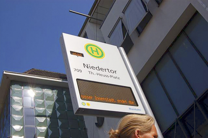 FPID (Flag Passenger Information Display)