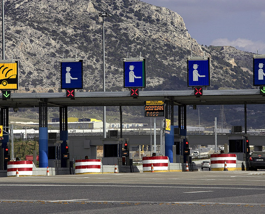 Attiki odos Toll Stations – Greece