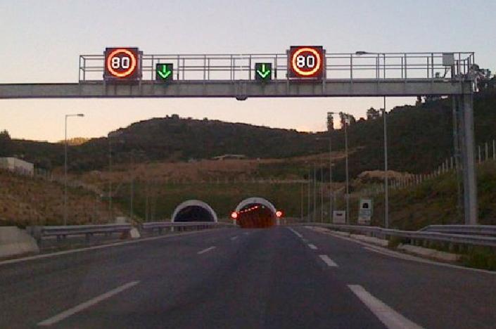 VSLS (Variable Speed Limit Sign)